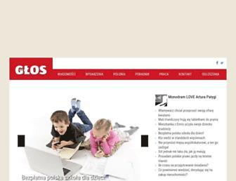 Main page screenshot of ng24.ie