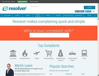 resolver.co.uk screenshot