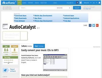 audiocatalyst.en.softonic.com screenshot