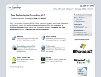 coretechnologies.com screenshot