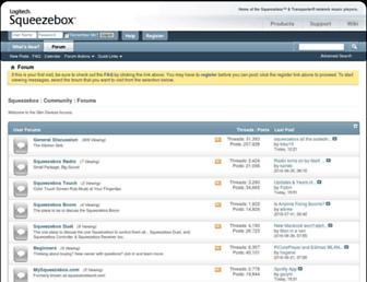 forums.slimdevices.com screenshot