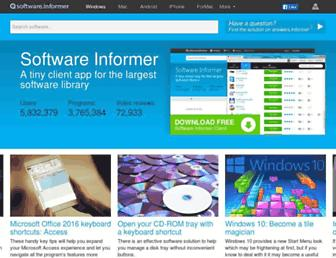 hacking-facebook-application.software.informer.com screenshot