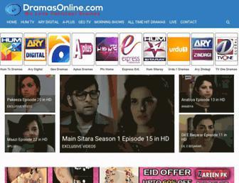 dramaonline.com screenshot
