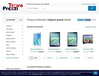 trovaprezzi.it screenshot