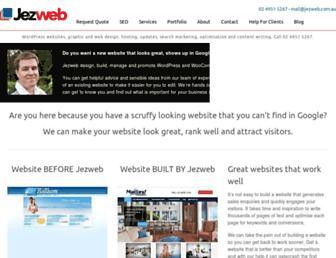 jezweb.com.au screenshot