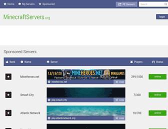 Fullscreen thumbnail of mcservers.org