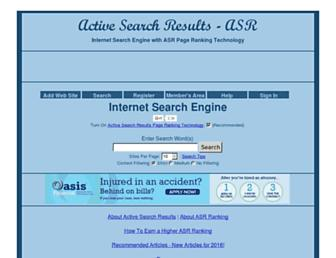 Thumbshot of Activesearchresults.com