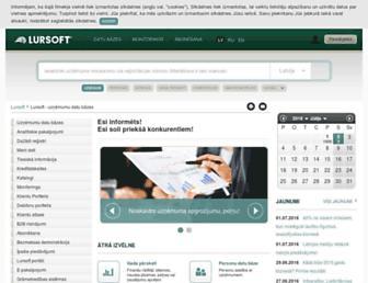 lursoft.lv screenshot