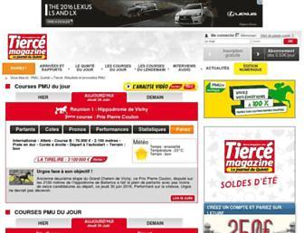 tierce-magazine.com screenshot