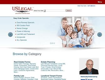 Thumbshot of Uslegalforms.com