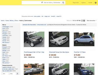 autos.mercadolibre.com.ar screenshot