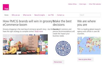 Thumbshot of Tns-global.com