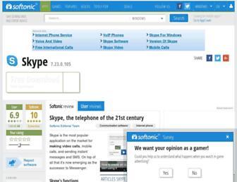 skype.en.softonic.com screenshot