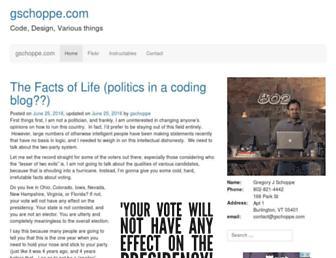 Thumbshot of Gschoppe.com