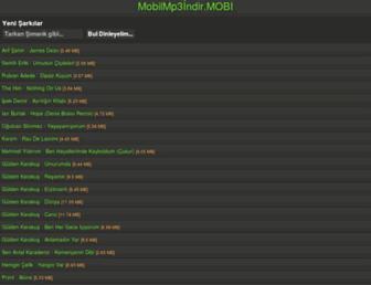 mobilmp3indir.mobi screenshot