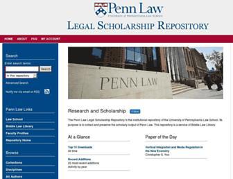 scholarship.law.upenn.edu screenshot