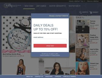Thumbshot of Zulily.com