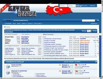 kevserdenizi.net screenshot