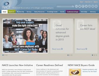 Thumbshot of Naceweb.org