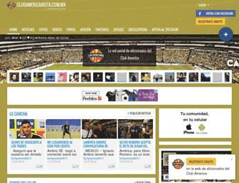 clubamericanista.com.mx screenshot