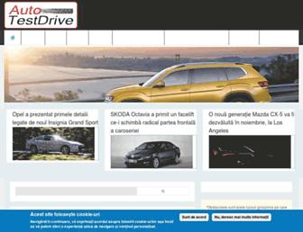 auto-testdrive.ro screenshot