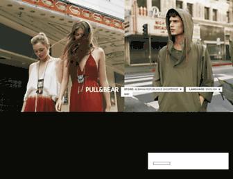 pullandbear.com screenshot