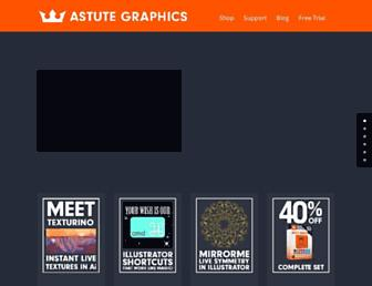 Thumbshot of Astutegraphics.com