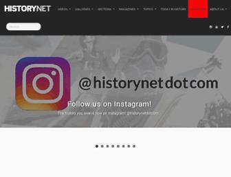 Thumbshot of Historynet.com