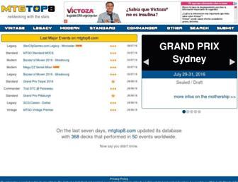 Thumbshot of Mtgtop8.com