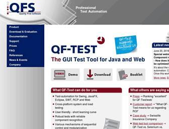qfs.de screenshot