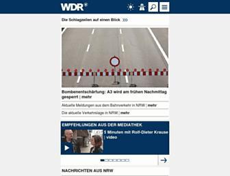 www1.wdr.de screenshot
