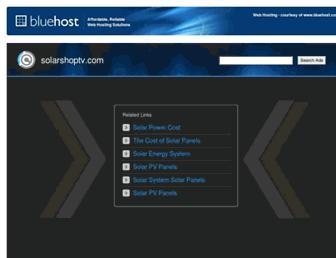 Thumbshot of Solarshoptv.com