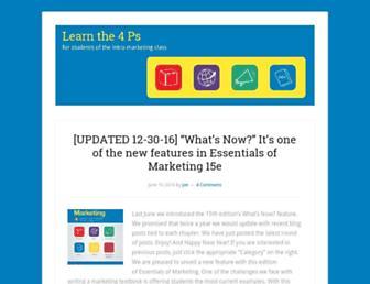 learnthe4ps.com screenshot