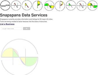 snapspans.com screenshot