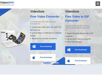 videosolo.com screenshot