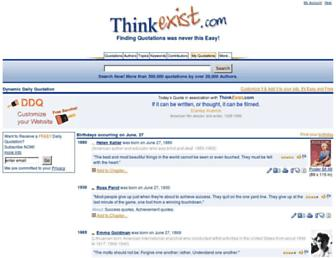Thumbshot of Thinkexist.com