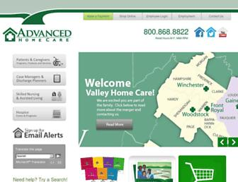 advhomecare.org screenshot