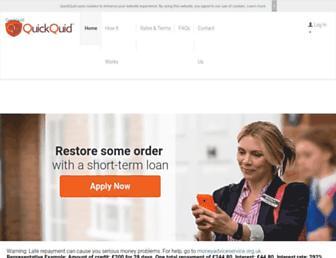 Thumbshot of Quickquid.co.uk