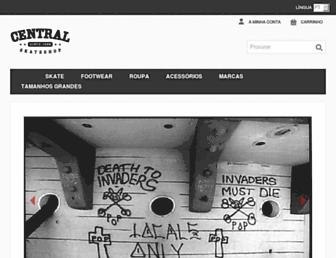 centralskatestore.com screenshot