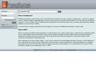 Thumbshot of Feedbucket.com