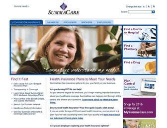 summacare.com screenshot