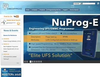 dediprog.com screenshot