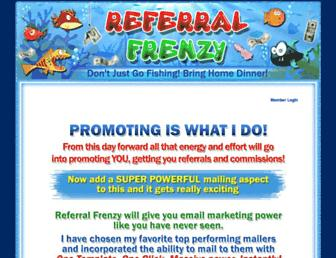 Thumbshot of Referralfrenzy.com
