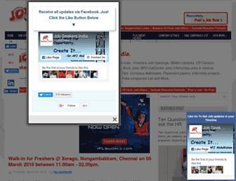 jobseekersindia.blogspot.com screenshot