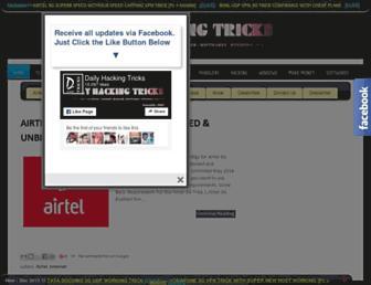 dailyhackingtrick.blogspot.com screenshot