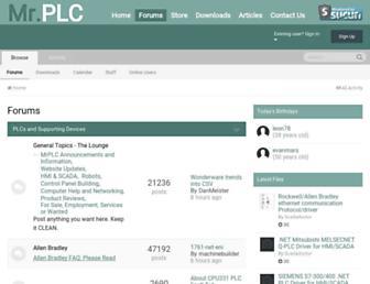 forums.mrplc.com screenshot