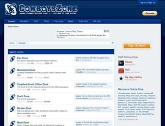 Thumbshot of Cowboyszone.com