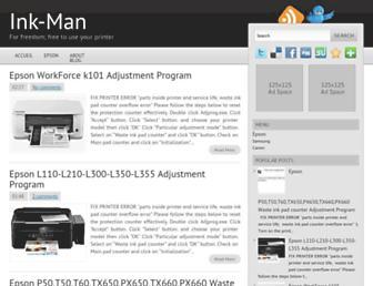 ink-man.blogspot.com screenshot