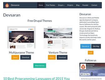 Thumbshot of Devsaran.com