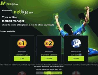 Thumbshot of Netliga.com